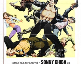 Back to School Sale: The Street Fighter Movie POSTER (1974) Action/Adventure