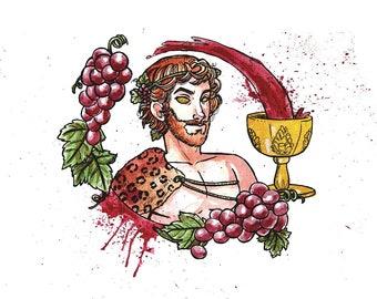 Print Dionysus