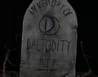 Customizable Haunted Mansion Inspired Tombstone - Style Four