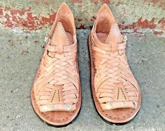 PIHUAMO PREMIUM STYLE mexican sandals men's huaraches mexicanos tradicionales genuine leather cuero autentico