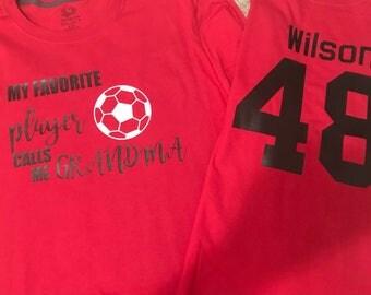 Grandma Soccer Shirt