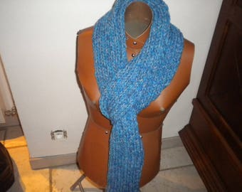 scarf collar open made in wool