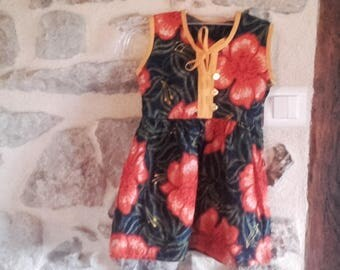 baby dress in fabric