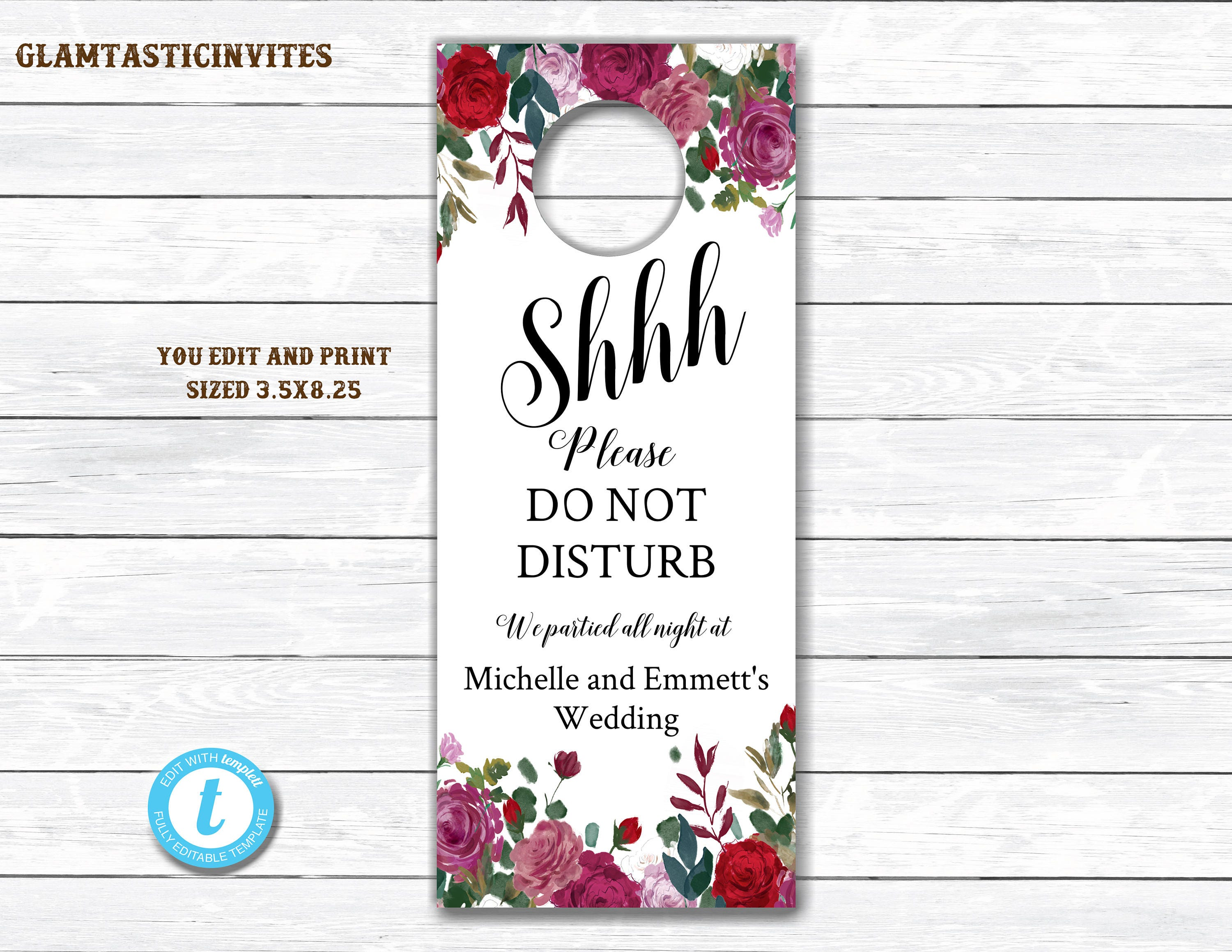 Diy Do Not Disturb Door Hanger - Home & Furniture Design ...