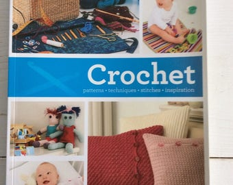 Crochet Book - Crochet Patterns Techniques Stitches Inspiration - Paperback Book by Katy Bevan - Crochet Pattern Book