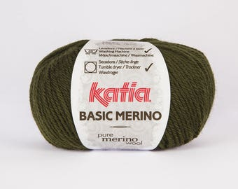 Katia Basic 16 color Merino Wool.