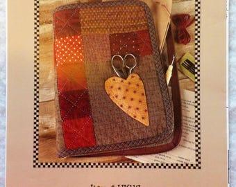 """Indygo Junction Kimie's Quilts Quilt Pattern ~ """"Stitcher's Organizer"""" #IJK117"""