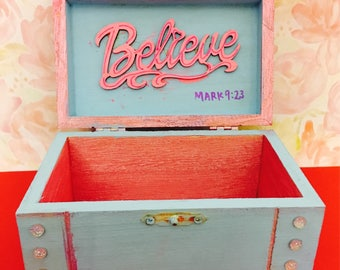 Fearfully and Wonderfully Made Jewelry Box