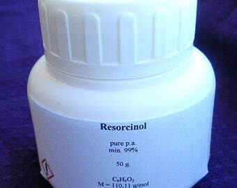 Resorcinol (Resorcin) - pure p.a. 25-50-100-200g flakes 108-46-3 Free Shipping