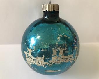Shiny Brite 1950's Christmas Ornament