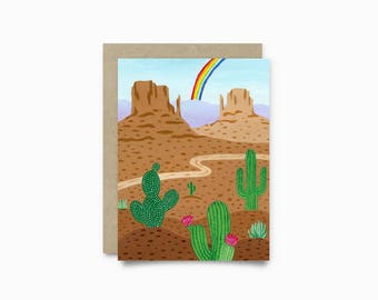 Greeting card - Monument Valley