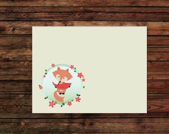 Foxy Summer - Envelope Set - A2 Envelopes