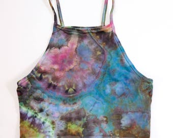 Ice-Dyed Women's Halter Tank, M