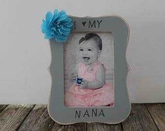 Nana Picture Frame, Grandma Frame, Nana Frame, Gift For Nana, 4x6 Picture Frame, Mother's Day Gift