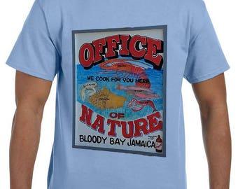 Office of Nature Jamaica Tshirt