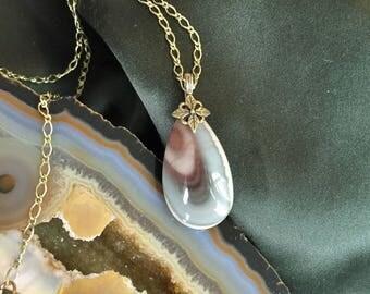 Royal Imperial Jasper Gemstone Pendant necklace
