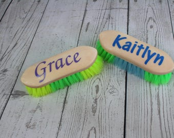 Personalized Horse Grooming Brush