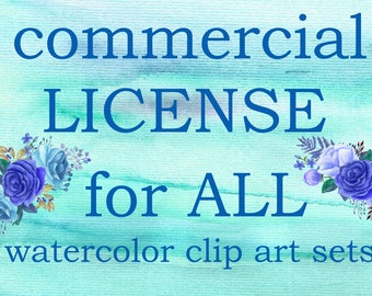 Commercial License NO Credit required for UNLIMITED SETS