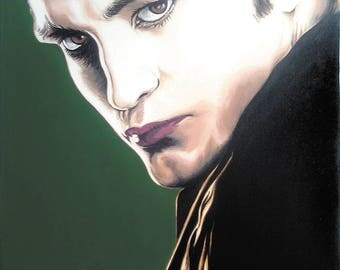 Robert Pattinson painting