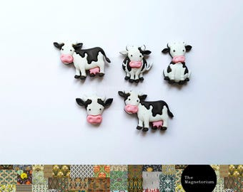 Cow Fridge Magnet Set