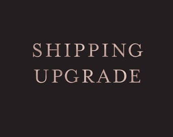 Upgrade Shipping on Guest Book Purchase