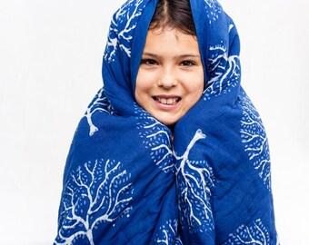 Sacred Tree Organic Blanket