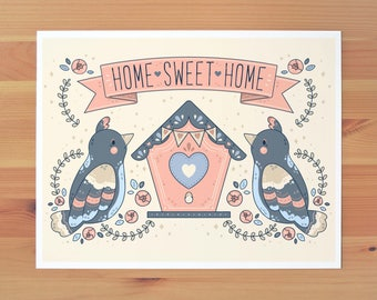 Home Sweet Home Print *TWO SIZES*