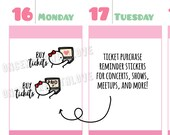 Munchkins - Buy Tickets for Concerts, Shows, Events, Conventions, Etc Planner Stickers (M402)