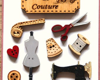 sewing workshop button