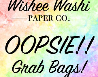 OOPSIE Grab Bags! 10 Sheets for 10 Dollars - Planner Stickers - Oops Deco Stickers - Oops Functional Stickers