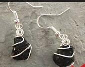 Christmas Coal Gift for Women - Funny Christmas Gift for Daughter - Gag Stocking Stuffer - Funny Christmas Earrings - Christmas Novelty Gift
