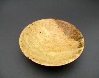 Birds eye maple serving bowl #567