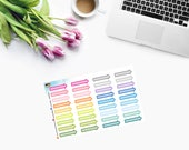 COLOURFUL ARROWS Event Planner Stickers - CAM00257