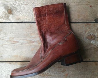 Vintage deadstock nos Kings of LLoyd ankle chelsey boots size eu 39 uk 6