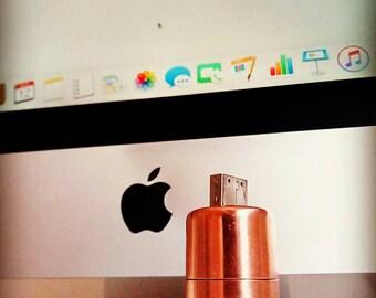 Pure Copper USB Stick | Flash Drive | Memory Stick | Media Storage | usb Stick | usb Memory Sticks |  usb Drive | Data Transfer