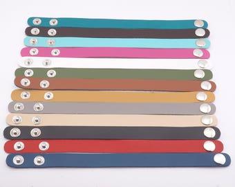 Leather Cuff Blank, Blank Leather Cuff - 1/2 inch leather cuff - leather cuff bracelets - blank leather template - leather cuff supplies -