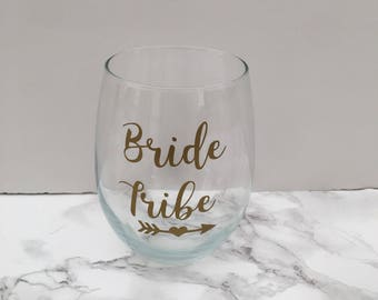 Bride tribe decal | Free Bride decal | Bridesmaid decal | Bride decal | Bride tribe cup decal | Bride tribe | Bachelorette party