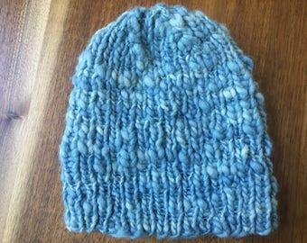 Hand Spun Wool Hat