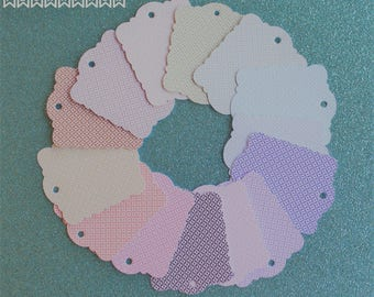 Customizable Gift hang tags, gift tags favor card cardboard nozza birth baptism first communion