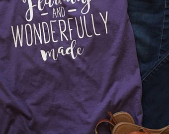 Wonderfully Made Tshirt