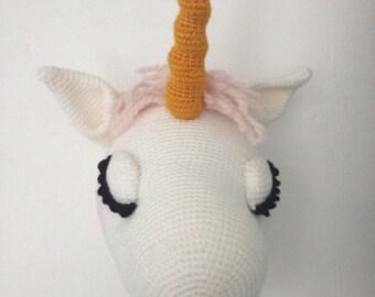 100% trophy faux taxidermy Unicorn