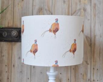 Pheasant lampshade New print