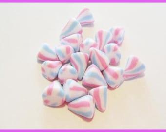 ♥ 20 miniature berlingots Fimo polymer clay for jar ♥