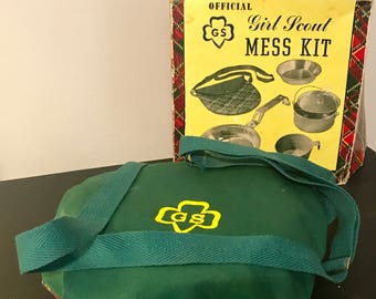 Girl Scout Aluminum Mess Kit with Box - #15-302