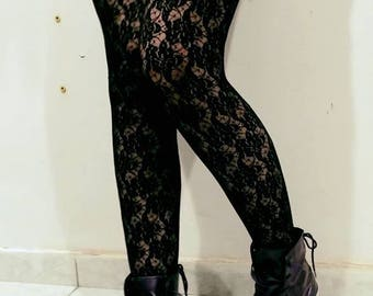 SALE!!! Two Vintage Goth/Punk/Rock Lace