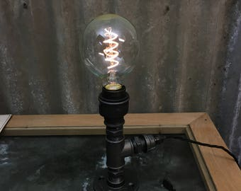 St. Just : SteamPunk Table Lamp