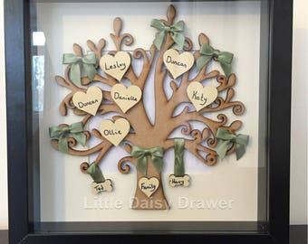 Family Tree Keepsake Frame