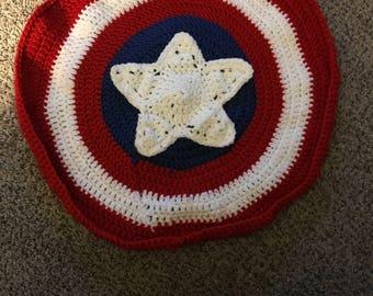 Captain America blanket