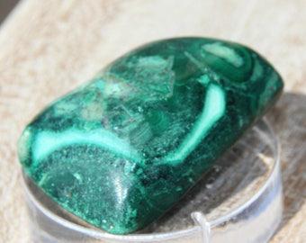 malachite-chrysocolla stone