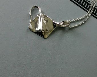 925 sterling silver blanket fish/chain 925 sterlingsilver/fish charm/fish pendant/ océan Jewelry
